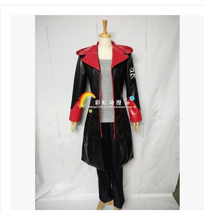 Devil May Cry 5 Dante cosplay Costumes only Coat Jacket Faux Leather(PU)