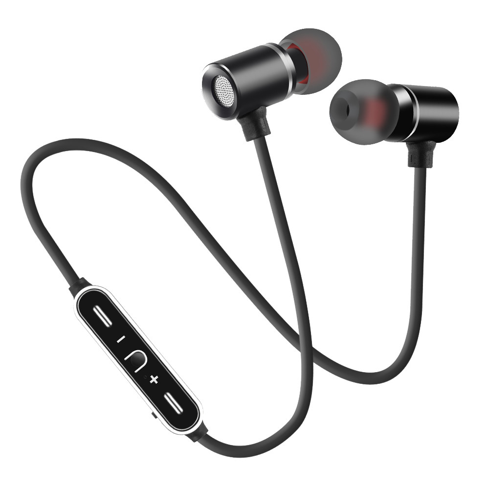 2019 Newest Ergonomically Designed Very Cheap Wireless Bluetooth Earphone Headphone Sports Stereo Earbuds Hang Neck Headset #A image
