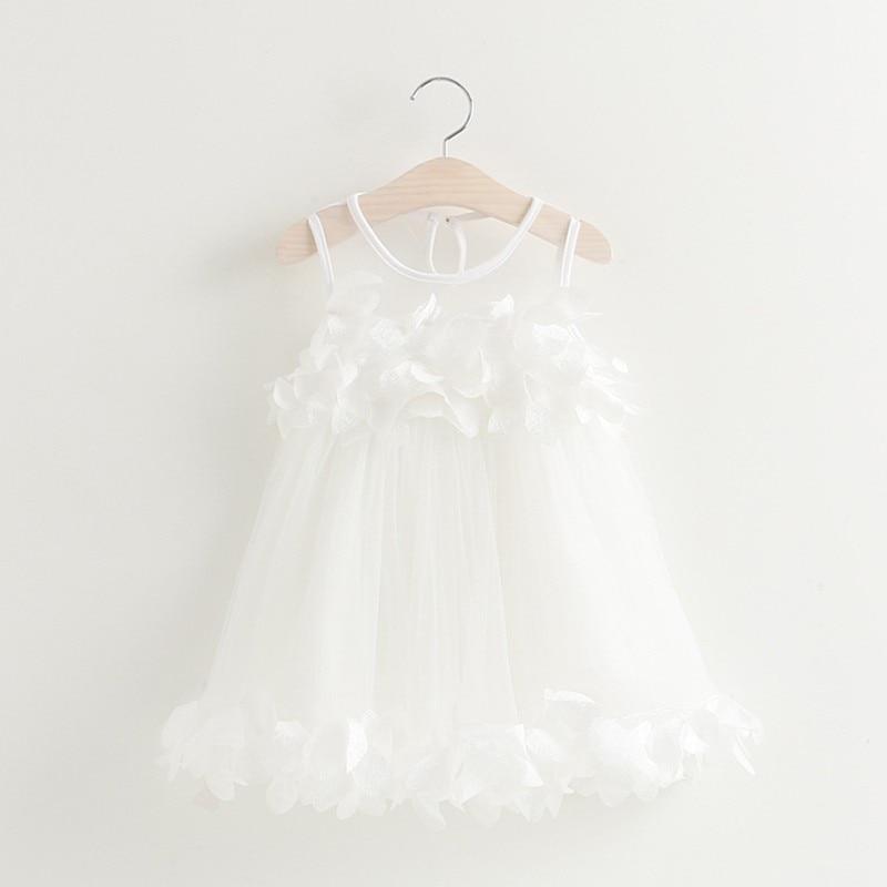 pink applique dress
