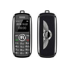Карман мини-телефон ключи от машины Fsmart V8 маленький Bluetooth номеронабиратель MP3 волшебный голос Dual SIM карты супер маленький мобильный телефон