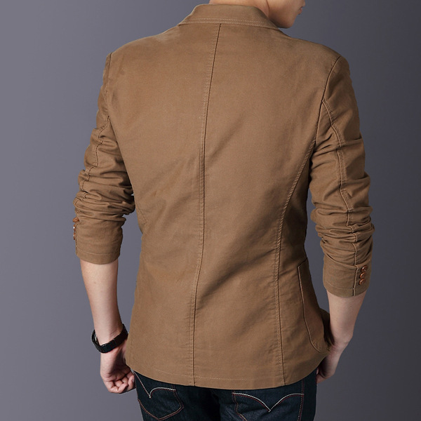 Online Shop 2016 New Arrival Casual Blazer Men Spring Fashion ...