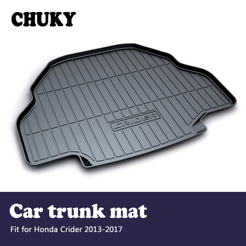 CHUKY For Honda Crider 2013 2014 2015 2016 2017 Car Cargo rear trunk mat Boot Liner Tray Waterproof Anti-slip mat Accessories