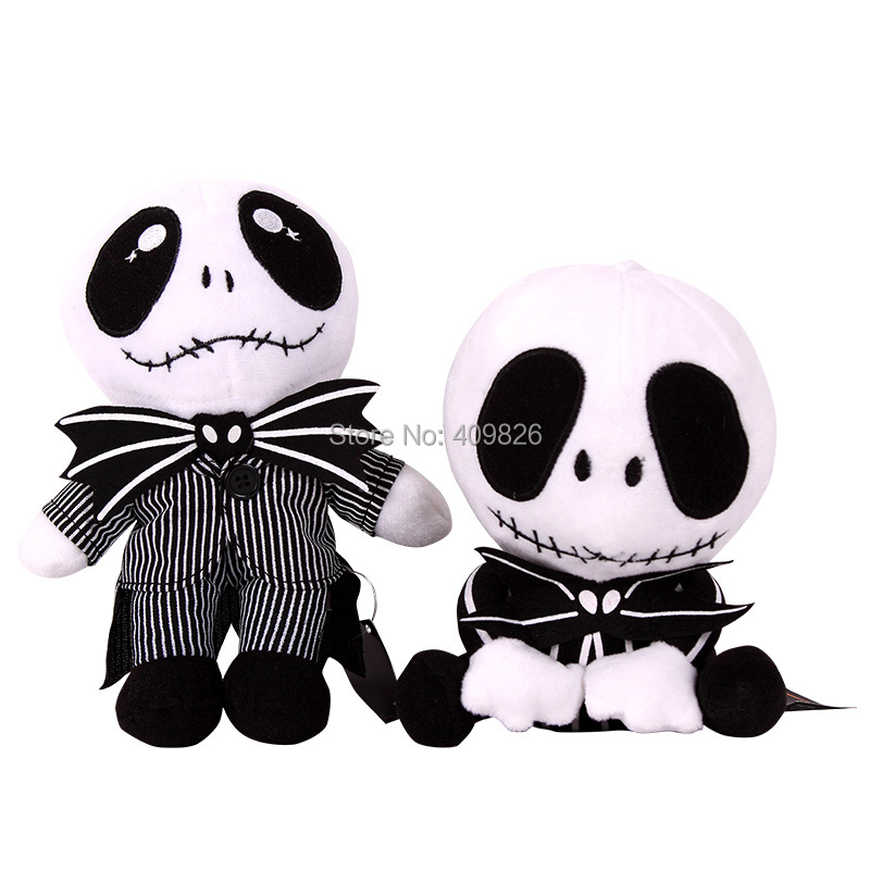 Para editar electo pozo  Tim Burton The Nightmare Before Christmas Jack Skellington Musical Skeleton  MR. JACK Plush Stuffed Toy Halloween Christmas Gift|toy music|gift and  accessories showtoy chick - AliExpress