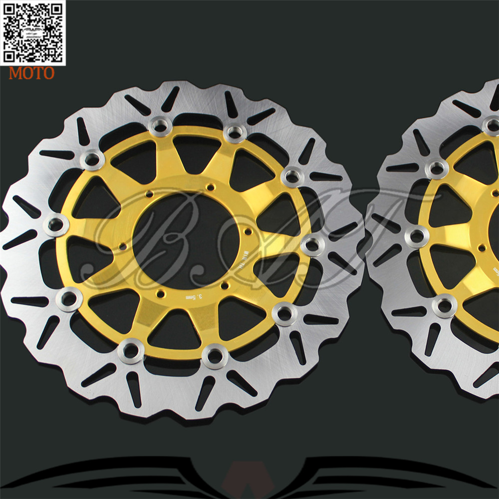 Motorcycle Accessories Front Brake Discs Rotor For Honda CBR1000RR 2006 2007 2008 2009 2010 2011 2012 aftermarket free shipping motorcycle parts eliminator tidy tail for 2006 2007 2008 fz6 fazer 2007 2008b lack