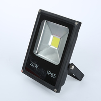 1Pcs 220V Ultrathin LED Flood Light 10W 20W 30W 50W IP65 Waterproof COB Spotlight Outdoor Floodlight