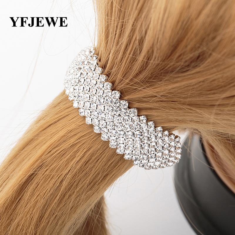 hair styling accessories online yfjewe fashion hair styling hair jewelry high 3923 | YFJEWE Fashion Hair Styling Women Hair Jewelry high quality Wedding Accessories Bridal Crystal Rhinestone Hairbands Women