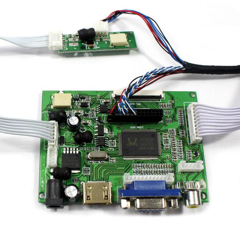 HDMI VGA 2AV lcd Controller board VS-TY2662-V1 work for 9 7inch LTN097XL01  1024x768 Lcd screen