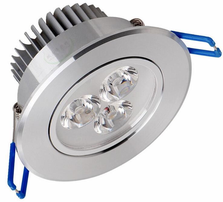 1Pcs 9W 12W 15W AC85V-265V 110V / 220V LED Առաստաղի - Ներքին լուսավորություն - Լուսանկար 2