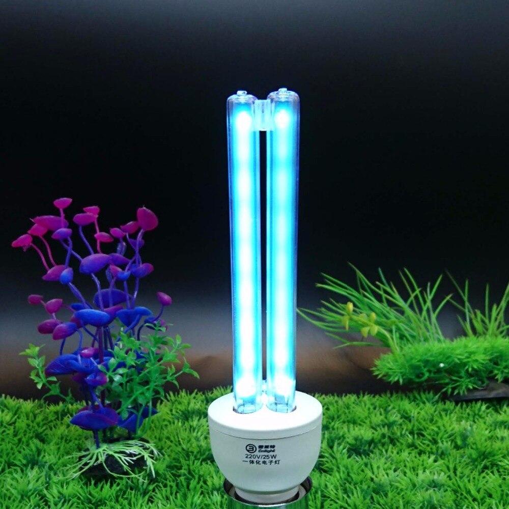 110V/220V Air Purifier Ozone Quartz UV Germicidal Compact CFL Lamp Clean & Sanitizer By Eliminate & Kill Bacterial Virus Mites