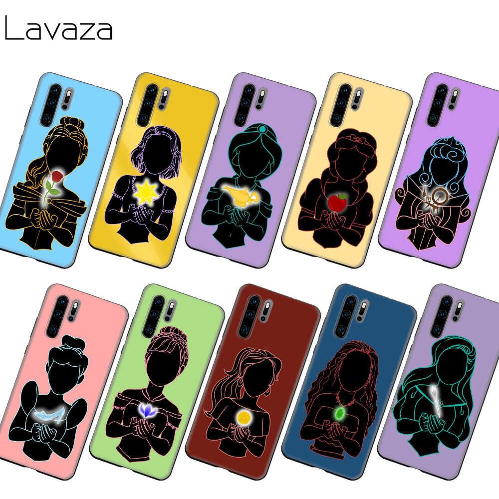 Lavaza schnee Weiß prinzessin kunst Fall für Honor Mate 30 Nova 4E 5T V20 9X P20 Y9 5i P smart Z Prime Plus Lite Pro