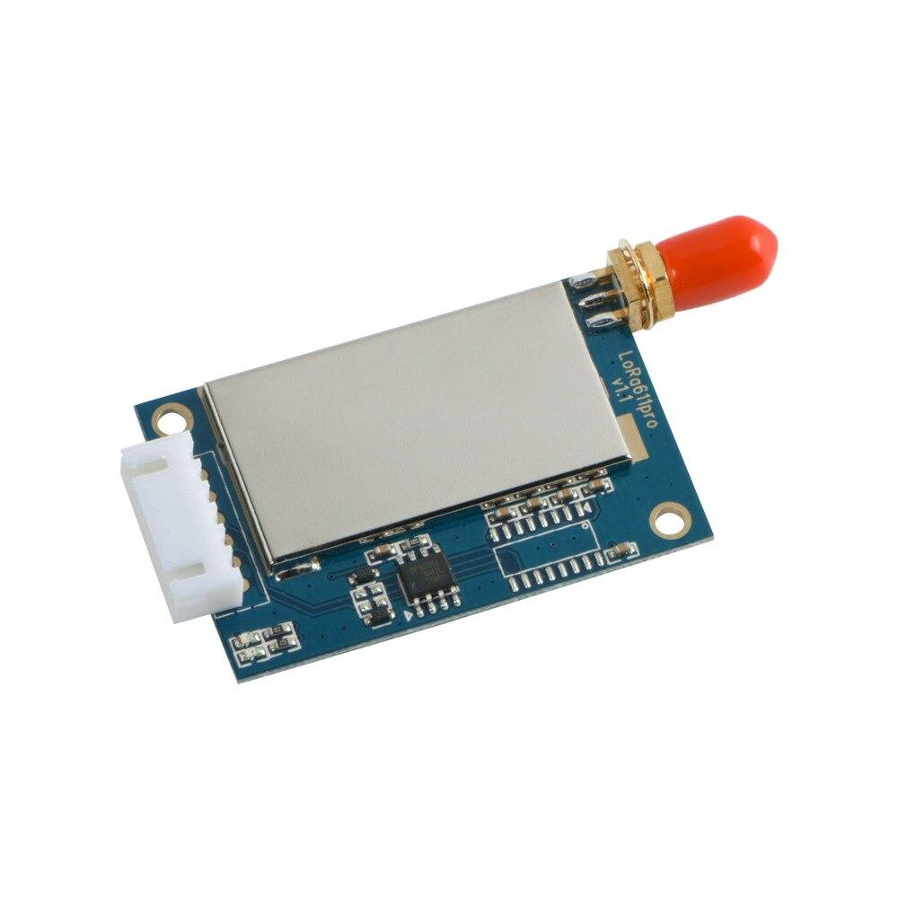Free Shipping-2PCS Lora611pro 20dBm TTL/RS232/RS485 433/470/868/915MHz 5KM SX1276/SX1278 Smart Repeater Node Wireless RF Module