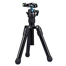 PULUZ Mini Tripod DSLR Pocket Microspur Photos Tripode Camera Professional Mount with 1/4 360 Degree Ball Head For Sony Nikon