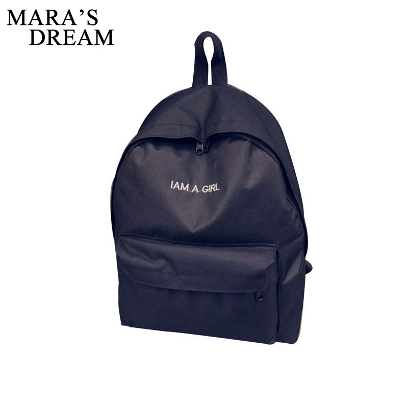 Mara's Dream Letter Men Backpack Junior High School Students Shoulder Bag Women Daily Backpack Casual Male Travel Bag Mochila voyjoy t 530 travel bag backpack men high capacity 15 inch laptop notebook mochila waterproof for school teenagers students