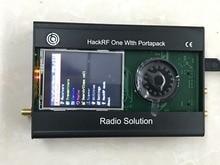 أحدث إصدار من PORTAPACK + هاكرف واحد 1 ميجا هرتز إلى 6 جيجا هرتز برنامج حقوق السحب الخاصة تعريف راديو + حافظة معدنية + 0.5ppm TXCO + Touch LCD