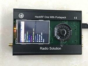Image 2 - أحدث نسخة PORTAPACK + هاكرف واحد 1MHz إلى 6GHz SDR + حافظة معدنية + 0.5ppm TXCO + Havoc البرامج الثابتة المبرمجة + LCD تعمل باللمس