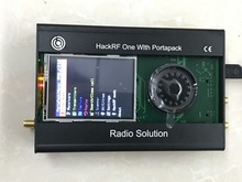 最新バージョンportapack + hackrf 1 1 に 6 2.4ghz sdrソフトウェアラジオ + 金属ケース + 0.5ppm txco + タッチ液晶
