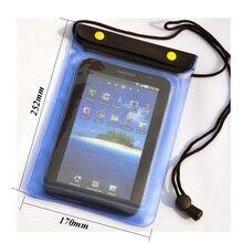1x Универсальный 7/8 дюймов водонепроницаемая сумка для планшета протектор чехол Чехол для T3 7,0/мини 7,9 ''/Tab A 8,0 водонепроницаемая крышка