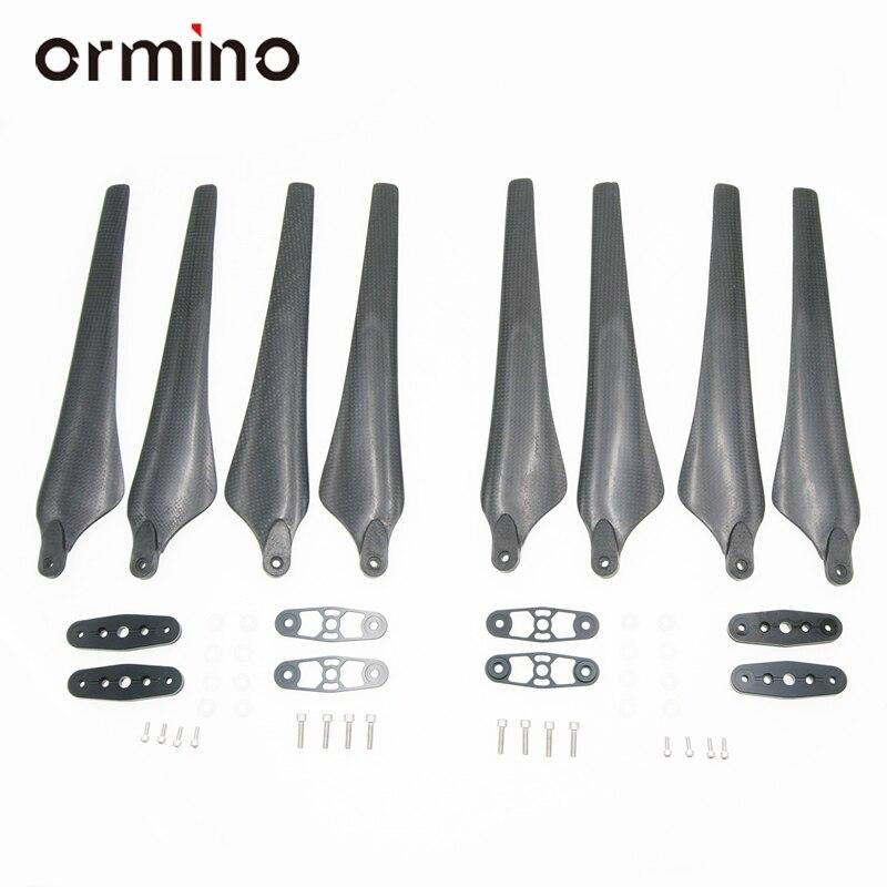 Ormino 2 paar 2170 Gevouwen Propeller 21 Inch E2000 UAV Carbon Fiber Klapschroef 6010 Borstelloze Motor S900 Power RC drone Kit-in Onderdelen & accessoires van Speelgoed & Hobbies op  Groep 2