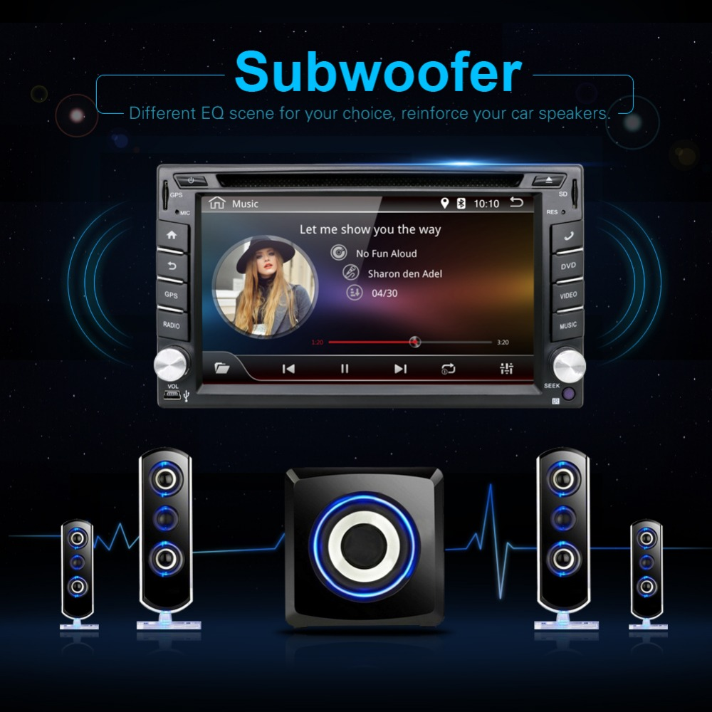 Where to buy android6 0 universal 2 din car dvd player radio gps navigation bluetooth double din touch screen car stereo rds analog tv best price now