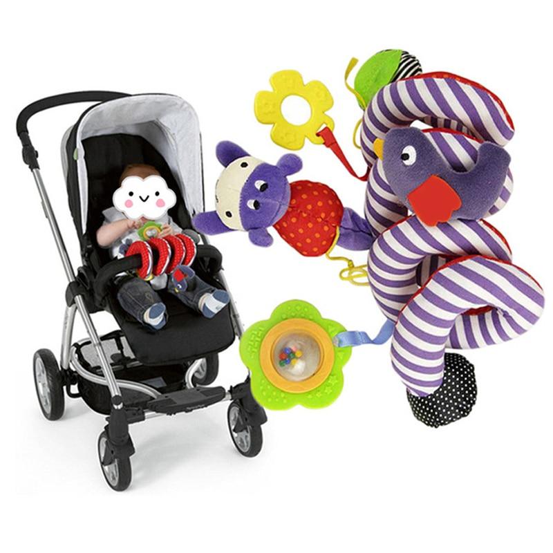 Mados dizainas mielas kūdikių kūdikių grotelės kabo edukaciniai - Kūdikių žaislai
