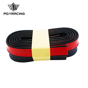 PQY - 2.5M/ROLL 60MM WIDTH Car Front Bumper Lip Splitter Protector Body Spoiler Valance Chin Rubber PQY-FBL11/51/61