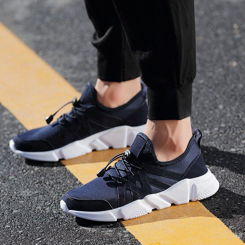 Onke/Новое поступление Лидер продаж дышащий холст + PU мужские Кроссовки Спортивная обувь легкая спортивная обувь 830