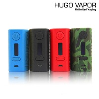 Original HugoVapor Rader 211w Box Mod V2.0 Electronic Cigarette fit Dual 18650 Battery VW Vaporizer Mods for RDA RTA Atomizers