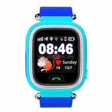 Q90 New Kids GPS Wifi Position Wristwatch Children Smart Watch Touch screen SOS Call Tracker Baby Safe Anti-Lost Smart watch