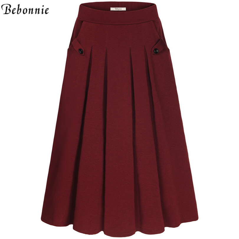 get cheap pleated skirt aliexpress
