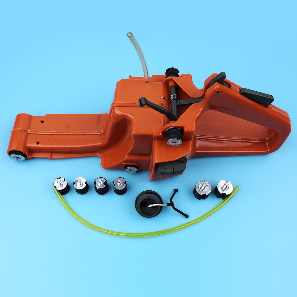 Gas Fuel Tank Cap Oil Cap Set Fit Husqvarna 266 268 272 66 61 Gas Chainsaw