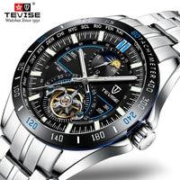 2019 Tevise Mechanical Watches Fashion Luxury Men's Automatic Watch Clock Male Business Waterproof Wristwatch erkek kol saati
