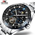 2019 Tevise Mechanische Horloges Mode Luxe heren Automatische Horloge Klok Man Business Waterdicht Horloge erkek kol saati