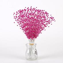 100pcs 4mm pearl flowers stamens Wedding decoration flowers accessories DIY artificial floral tools Home decor 3
