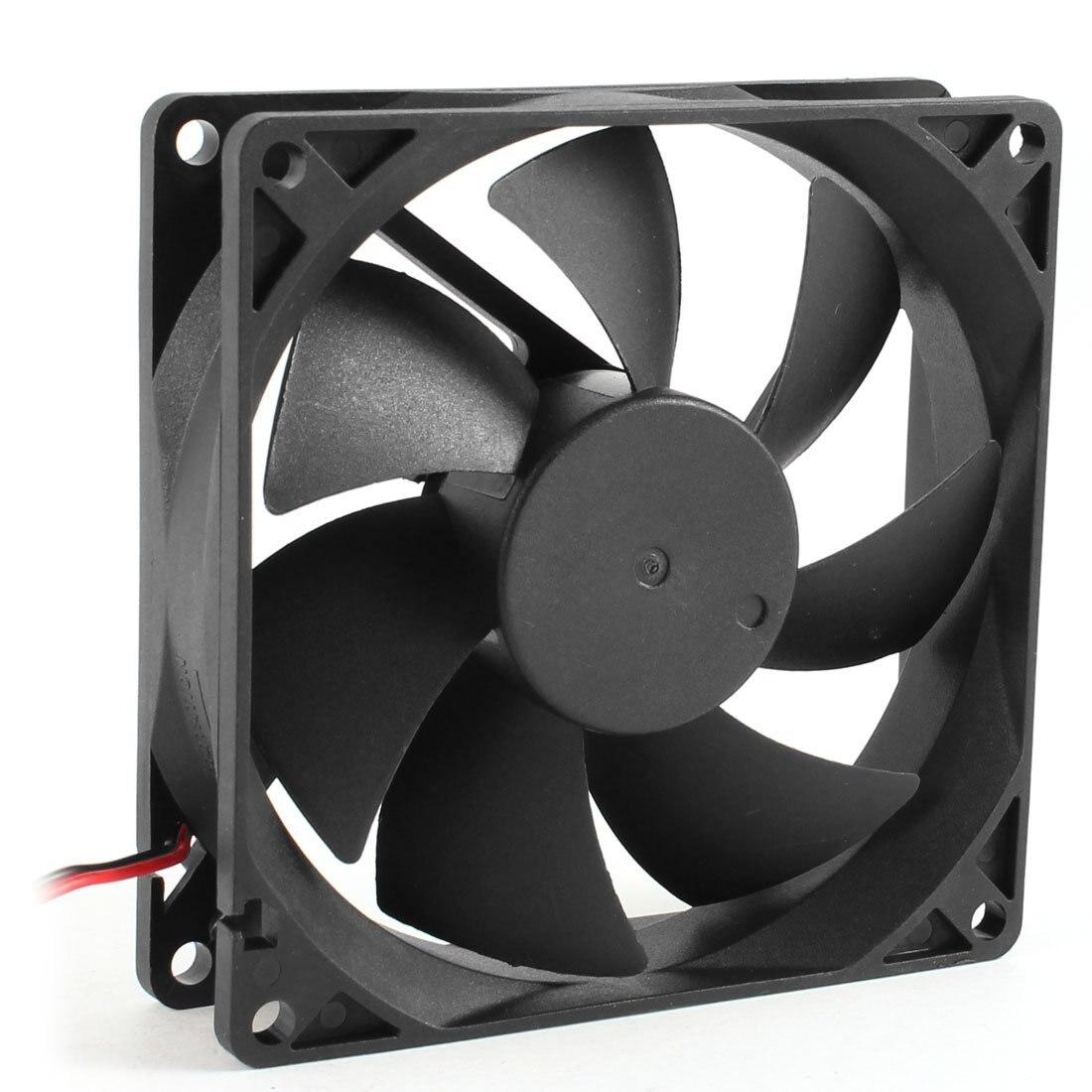 92mm x 25mm DC 12V 2Pin 65.01CFM Computer Case CPU Cooler Cooling Fan