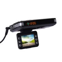 3 in 1 720P HD Car DVR GPS Car Camera Recorder Mobile Radar Speed Detector GPS Radar Speed Detector English / Russian