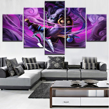 Canvas Home Decorations Wall Decor DOTA 2 Game 5 Pieces Paintings on Art for Modern For Living Room