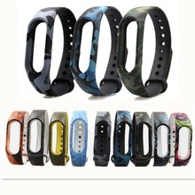 Bracelets mi band 2 Wristband Silicone Colorful Miband 2 Strap Bracelet Strap men's watch smartwatch Accessories For Mi Band 2