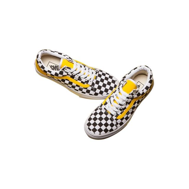 dd5b8af2dbf ... Original Vans Men s   Women s Classic Old Skool Low-top Classic  Checkerboard Lattices Skateboarding Canvas ...