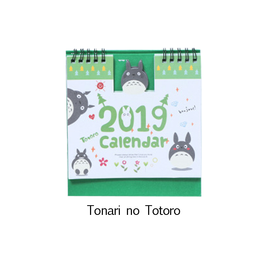 Calendars, Planners & Cards Office & School Supplies 1 Piece 15cm 2019 Cute Animal Calendar Office Stationery Desk Notebook Promotion Gift Girls Birthday Gift Carefully Selected Materials