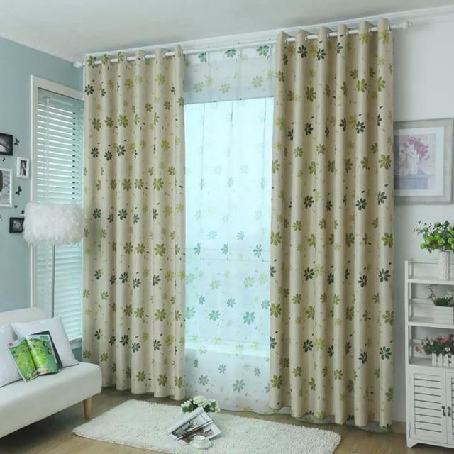 ontwerp gordijnen schaduw panel verduisterende stof kamer gordijnen keuken slaapkamer woonkamer