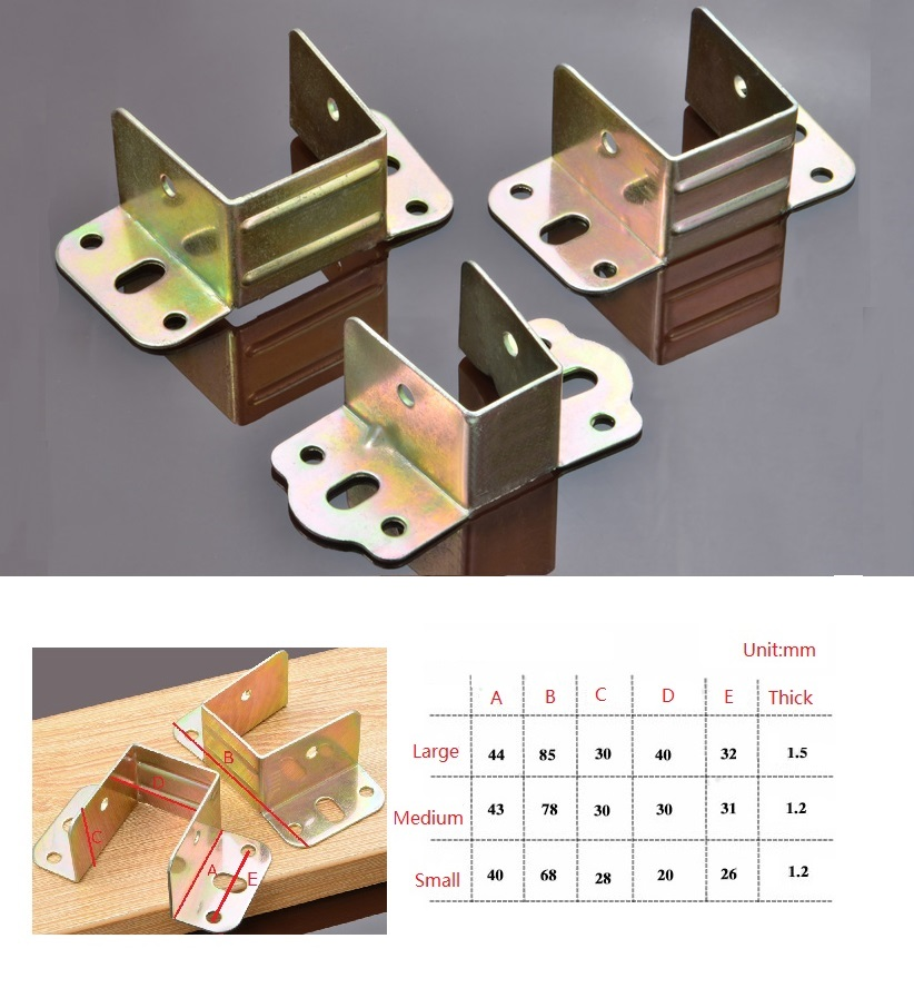 20Pcs/Lot Premintehdw Bed Rail Hanger Bracket