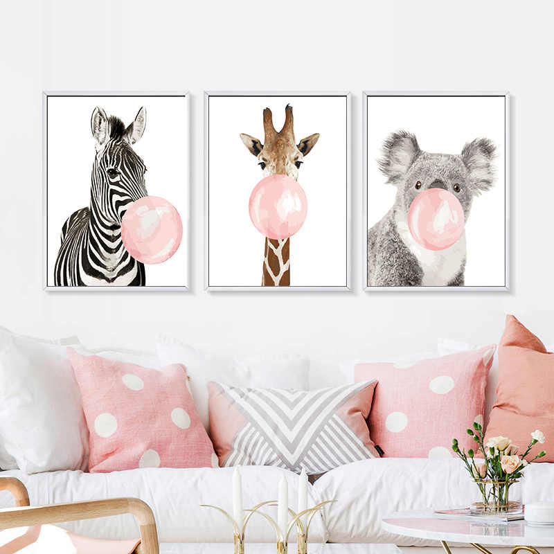Royaldream DIY Oil Paint by Numbers Kits Animal Painting by Handmade on Canvas Wall Art for Living Room Painting By Numbers40x50