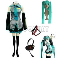 Vocaloid Miku Hatsune Cosplay Costumes And Accessories
