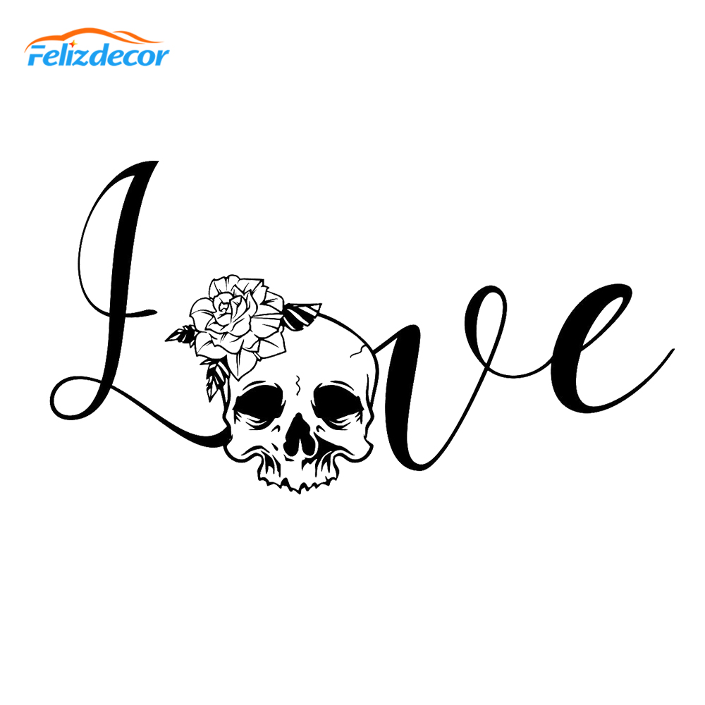 WELDERS SKULL CAR TRUCK DECAL STICKER WITH ALCOHOL PAD