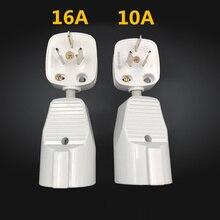 10/16A AU CN plug turn EU SOCKET 20 CM extension cord electric appliance Transformation 4.0 4.8 RJ Europe socket