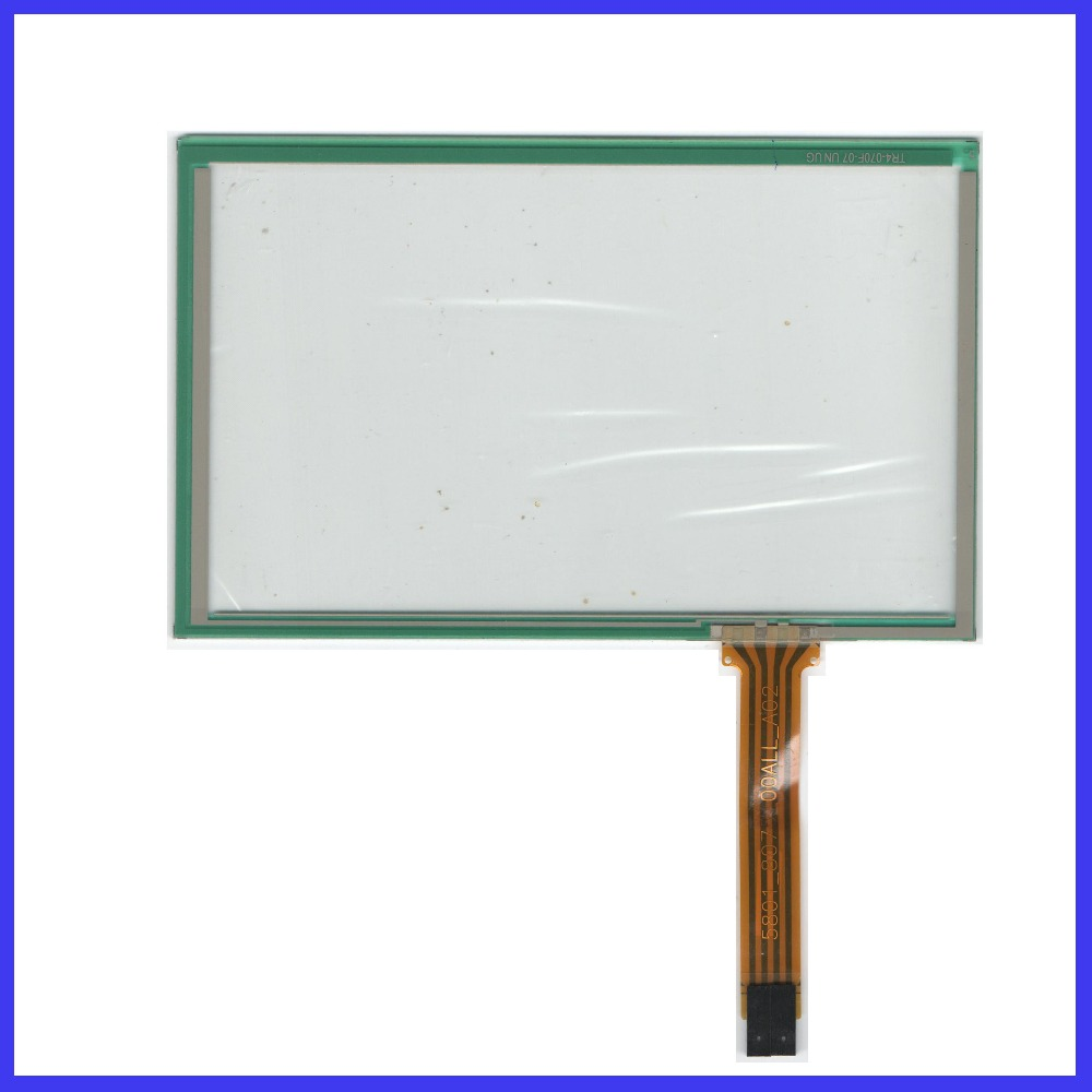 ZhiYuSun TR4-070F-07 UN UG POST 7 inch 4wire resistive Touch Screen 170*106  for  industry applications  MINDA IN TAIWAN zhiyusun new 10 4 inch touch screen 239 189 for industry applications 239mm 189mm 8 lins 47f8104025 r13 commercial use