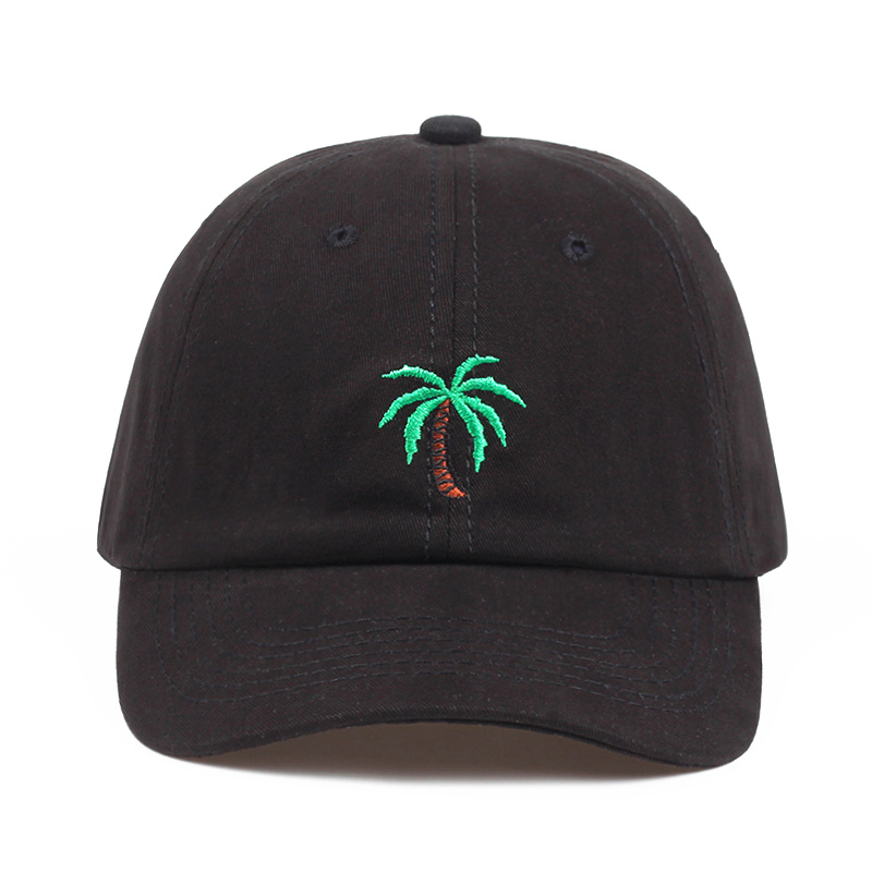 2018 new Embroidery Palm Trees Curved Dad Hats Take A Trip   Baseball     Cap   Coconut Trees Hat Strapback Hip Hop   Cap   Adjustable