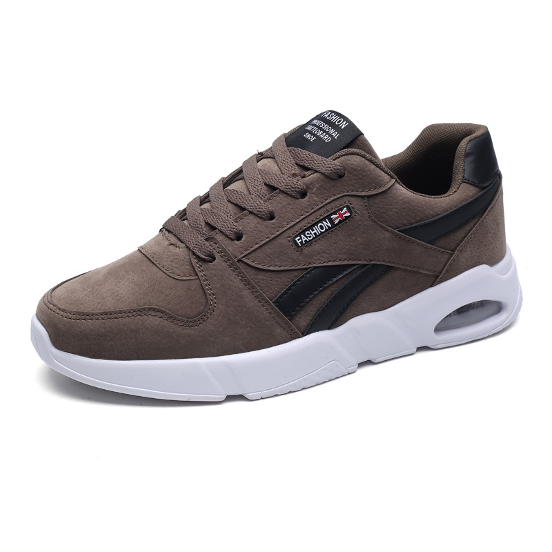 Genuine Leather Super Cool breathable running shoes men sneakers bounce summer outdoor sport shoes Professional Training shoes