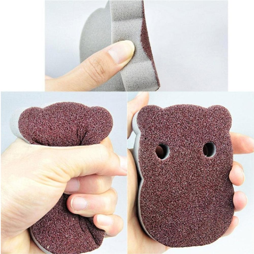 Cute Emery Sponge Clean Dishwashing Sponge Super Derusting Cleaning Wash Pot Brush 25