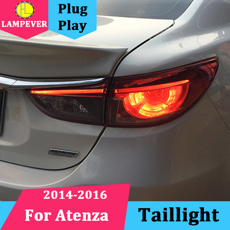 Lampever Tail Lamp for Mazda 6 Atenza LED Tail Light 2014